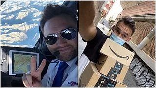 پاتریک پاولزاک، خلبانی که پس از بیکاری به دلیل شیوع کرونا به دنبال شغل دیگری رفت