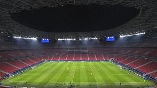 Ferencváros-Barcelona mérkőzés a Puskás Arénában 2020. december 2-án
