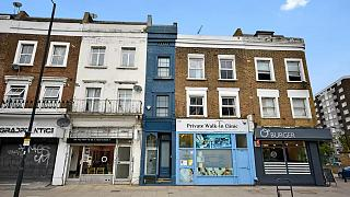 Londra'nın en dar evi