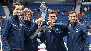 Rússia vence ATP Cup