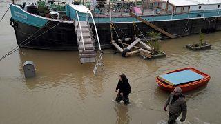 Überschwemmung in Paris