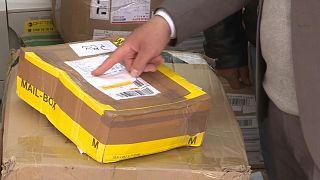 بدأ استخدام الرموز البريدية الفلسطينية