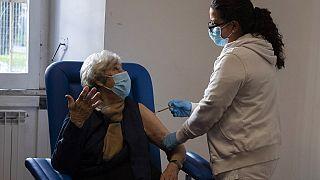 Vacinação em Roma (Itália)