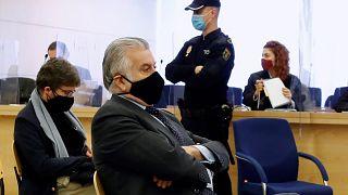 El extesorero del Partido Popular se siente ante la Audiencia Nacional en el juicio que arranca este lunes 8 de febrero de 2021.