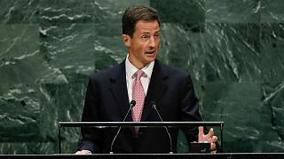 File photo: Prince Alois of Liechtenstein addresses the 74th session of the United Nations General Assembly, Tuesday, Sept. 24, 2019, at the United Nations headquarters.