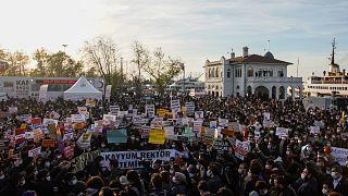 Boğaziçi Üniversitesi protestolarından