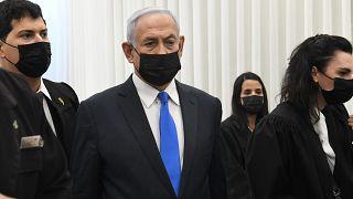 Netanjahu: Kurzer Auftritt vor Gericht