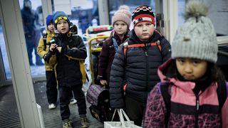 Dänemark: Drittklässler am ersten Schultag 2021