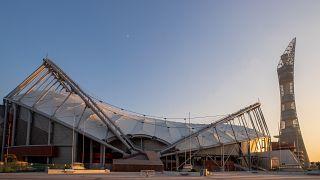ملعب خليفة لكرة القدم  في الدوحة