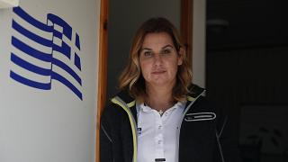 Greek Olympic sailing champion Sofia Bekatorou