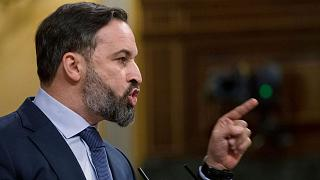 Vox party leader Santiago Abascal has intensifed campaigning ahead of next week's Catalonia election.