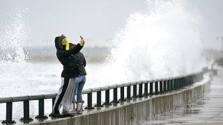 Wetterphänomenen sind beliebte Motive