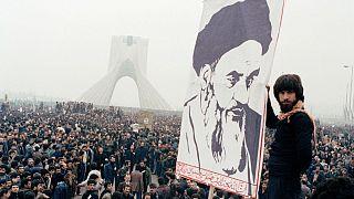یکی از تظاهرات منتهی به انقلاب سال ۱۳۵۷ در ایران