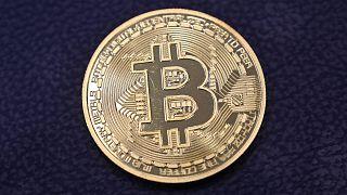 Photo d'illustration : représentation physique d'un bitcoin