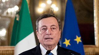 Il premier incaricato Mario Draghi