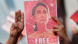 أعلنت واشنطن أن سلطات ميانمار رفضت طلبها التواصل مع زعيمة البلاد المخلوعة أونغ سان سو تشي