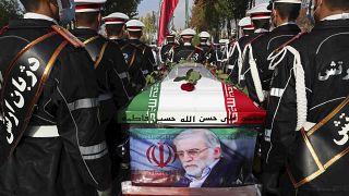 مراسم تدفین محسن فخریزاده