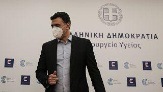 Ο υπουργός Υγείας της Ελλάδας Βασίλης Κικίλιας