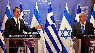 Yunanistan Başbakanı Miçotakis, İsrail Başbakanı Netanyahu