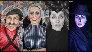 خبيرة تجميل أردنية تحقق شهرة على الشبكات الاجتماعية عبر تقمص شخصيات عالمية