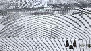 Winter in Deutschland.