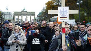 Protest gegen die Corona-Regeln am 18. November 2020 in Berlin