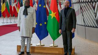 Burkina Faso President visits Brussels to strengthen cooperation