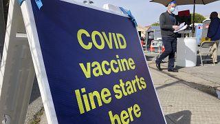 California vaccine center
