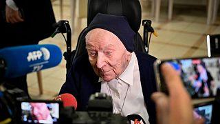 الأخت أندريه 116 عاما