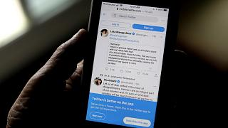 Twitter, Hindistan'da bazı kullanıcı hesaplarını akıya aldı