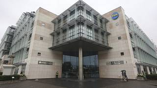 The Warsaw headquarters of the independent and popular television network, TVN.