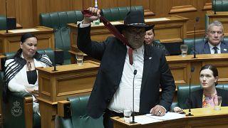 New Zealand's Maori party Rawiri Waititi