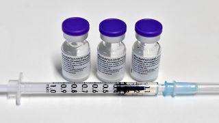 بيونتيك / فايزر -   مركز تطعيم في فريسينج، جنوب ألمانيا