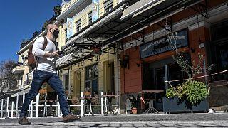 مطاعم مغلقة في أثينا