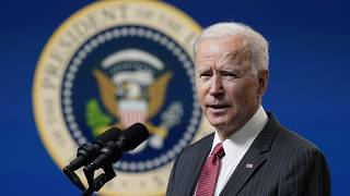 President Joe Biden speaks about his administration's response to the coup in Myanmar