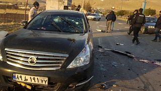 خودرو محسن فخریزاده پس از ترور