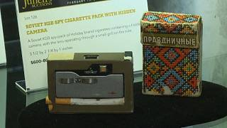 Zigarettenschachtel mit eingebauter Kamera