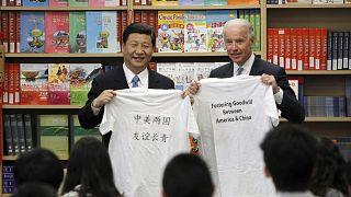 Hszi Csin-ping és Joe Biden 2012-ben a két ország kapcsolatának javításán fáradozott (illusztráció)