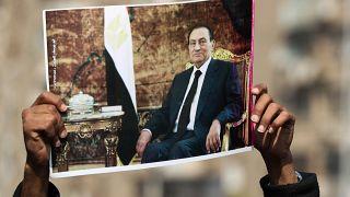 صورة للرئيس الراحل محمد حسني مبارك