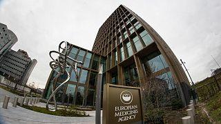 مقر وكالة الأدوية الأوروبية في أمستردام ، هولندا /الأربعاء ، 6 يناير ، 2021.