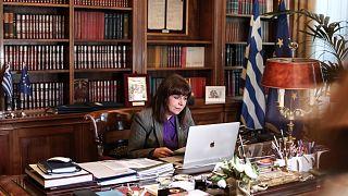 Η Πρόεδρος της Ελληνικής Δημοκρατίας Κατερίνα Σακελλαροπούλου απηύθυνε χαιρετισμό στο Πανελλήνιο Μαθητικό Συνέδριο