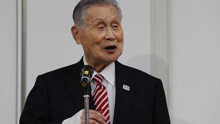 Tokyo Olimpiyatları ve Paralimpik Oyunları Organizasyon Komitesi Başkanı Yoşiro Mori