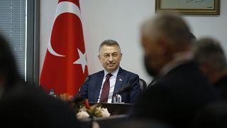 Ο τούρκος αντιπρόεδρος, Φουάτ Οκτάι
