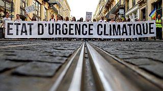 Manifestation pour le climat à Bordeaux, en octobre 2018.