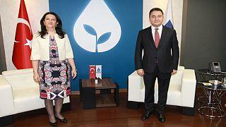 HDP Eş Genel Başkanı Buldan DEVA Partisi'ni ziyaret etti