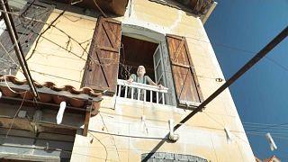 Hafenanwohner in Marseille