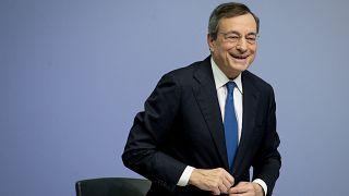 Former President of the European Central Bank Mario Draghi, Thursday, Oct. 24, 2019.