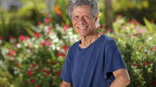 Jazz pianist and composer Chick Corea poses for a portrait in Clearwater, Fla., on Sept. 4, 2020.