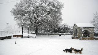 Greece snow / file photo