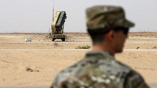 بطارية من منظومة باتريوت الأميركية في قاعدة الأمير سلطان (السعودية)
